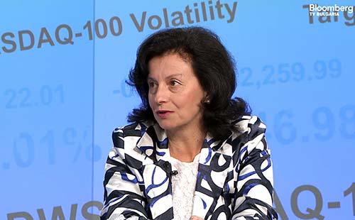 Мария Амзина в Бизнес старт на bloombergtv.bg